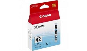 Canon CLI-42 PC, foto azurová originální