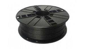 GEMBIRD Tisková struna (filament), nylon, 1,75mm, 1kg,černá