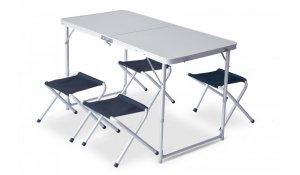 Pinguin alu stůl se židličkami Table Set