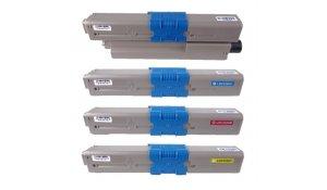 OKI C332/MC363 - kompatibilní sada tonerů XL kapacita