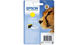 Epson Singlepack Yellow T0714 DURABrite Ultra Ink