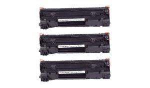 HP CE278A - kompatibilní multibalení 3ks toner
