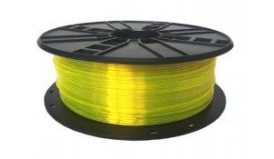 GEMBIRD Struna pro 3D tisk,PETG,1,75mm,1Kg,žlutá