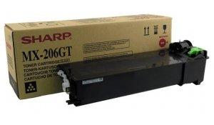 Sharp MX-206GT - originální toner černá, 16.000str., Sharp MX-M160, 210D