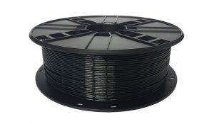 GEMBIRD Struna pro 3D tisk,PETG,1,75mm,1Kg,černá