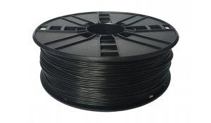 GEMBIRD Struna pro 3D tisk, flexibilní, 1,75mm,1kg, černá
