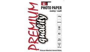 Fotopapír A3 oboustranný matný, 180gr/m2, 50listů