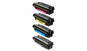HP CF320A+CF331A+CF332A+CF333 - kompatibilní sada tonerů 652A, 654A
