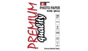 Fotopapír lesklý, 13x18cm, 250g/m2, 50 listů