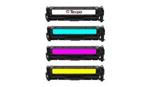 HP CF380X-CF383A - kompatibilní sada všech barev 312A