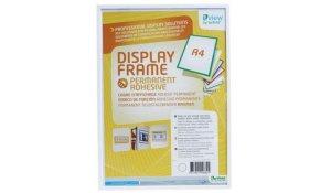Display Frame samolepící rámečky A4 bílé, 5ks