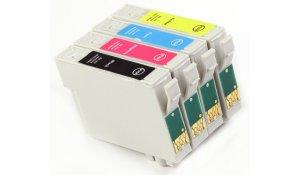 Epson T0715 - kompatibilní sada všech barev s čipem, XL kap., Topprint