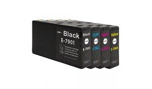 Epson T7901, T7902, T7903, T7904 - kompatibilní sada barev 79XL