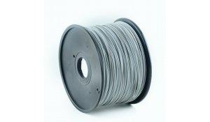GEMBIRD Struna pro 3D tisk, ABS, 1,75mm, 1kg, 400m, šedá