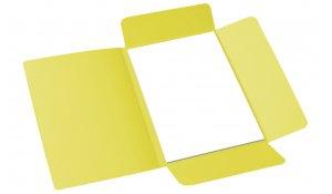 Desky odkládací 253 Classic, 3 klopy, žluté