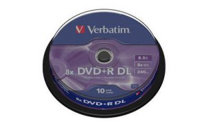 DVD+R VERBATIM Double Layer - dvouvrstvé, box - 10