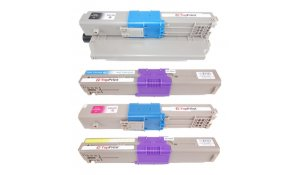 OKI C301 CMYK - kompatibilní sada toprint barev C301, C321