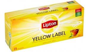 Lipton Yellow Label černý čaj 25sáčků