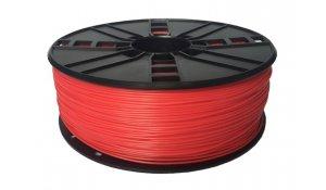 GEMBIRD Struna pro 3D tisk, flexibilní, 1,75mm,1kg, červená