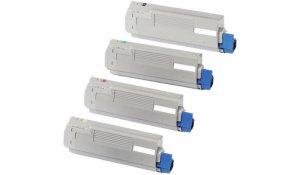 OKI 44059211 - kompatibilní modrá tisková kazeta MC860, na 10.000stran