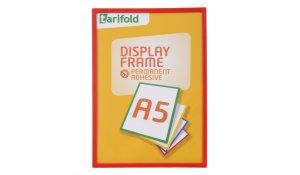 Display Frame samolepící rámečky A5 červené, 10ks