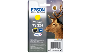 Epson Singlepack Yellow T1304 DURABrite Ultra Ink