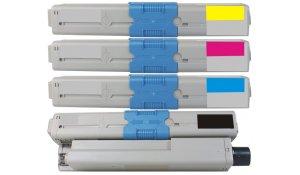 OKI C301 CMYK - kompatibilní sada všech barev C301, C321