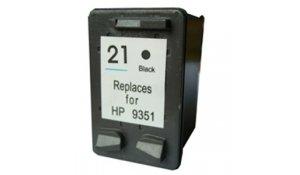 HP C9351A - renovovaná cartridge s hp 21XL černá Topprint