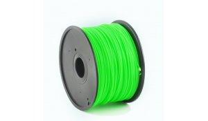 GEMBIRD Struna pro 3D tisk, ABS, 1,75mm, 1kg, 400m, zelená