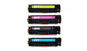 HP CF540A, CF541A, CF542A, CF543A - kompatibilní sada tonerů 203A