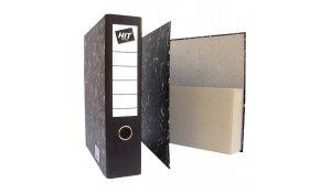 Pořadač archivní A4 papírový s kapsou
