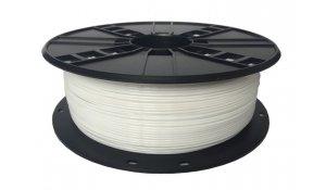 GEMBIRD Struna pro 3D tisk,PETG,1,75mm,1Kg,bílá