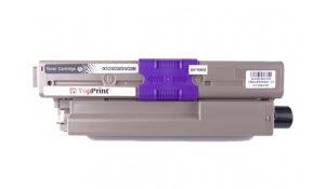 OKI 44469803 - kompatibilní toner C310, C510, Topprint černá na 3500 kopií