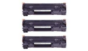 HP CE285A - kompatibilní multibalení 3 ks tonerů