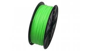 GEMBIRD Struna pro 3D tisk, PLA, 1,75mm, 1kg,green
