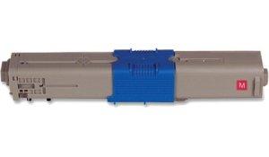 OKI 44469723 - kompatibilní toner C510, C530 červená, XL kapacita 5000 stran