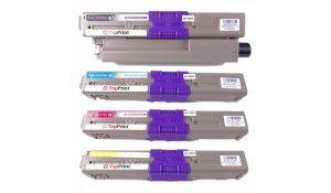OKI C310, C510 - kompatibilní sada všech barev Topprint