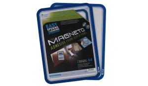 Magneto kapsa A4, samolepící nepermanentní, 4ks