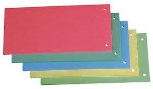 Rozdružovací kartonové jazyky - barevný mix / 50 ks