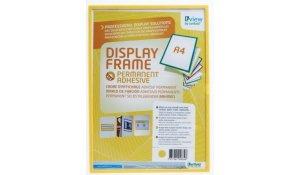Display Frame samolepící rámečky A4, 5ks