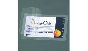 samolaminovací karta, 66 x 100 mm, transparentní - 100 ks