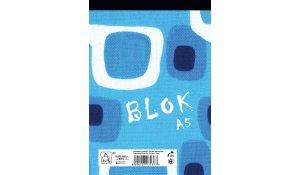 blok lepený A5, 50 listů