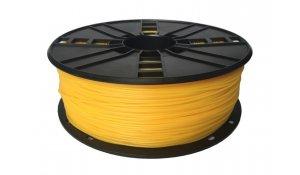 GEMBIRD Struna pro 3D tisk, flexibilní, 1,75mm,1kg, žlutá