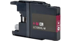 Brother LC1280XLM - kompatibilní cartridge červená