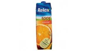 Relax 100% pomerančová šťáva 1l