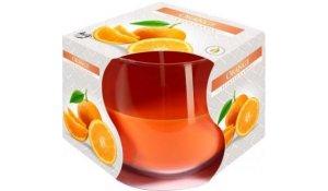 Vonná svíčka Pomeranč ve skle