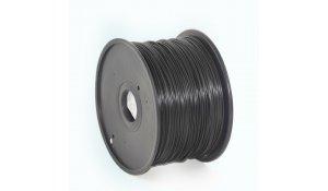 GEMBIRD Struna pro 3D tisk, PLA, 1,75mm, 1kg, 330m, černá
