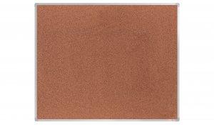 Korková nástěnka boardOK 150x120 cm, elox ALU rám