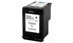 HP CC641E - renovovaná cartridge s hp 300XL černá