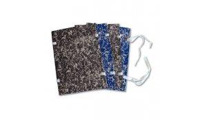 Desky spisové A4 s tkanicí - bez hřebu, modré
